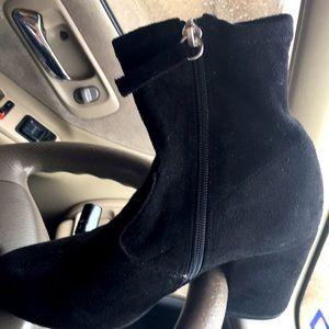 Big Buddha Ankle boots black